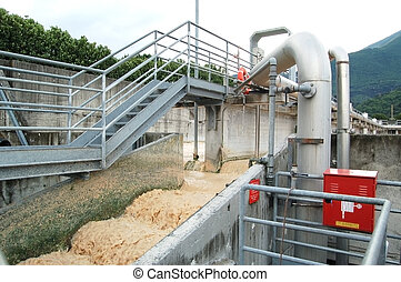 Paper mill - Water purification - Paper and pulp mill -...