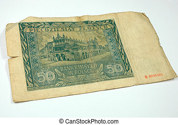 Paper money - Old paper money
