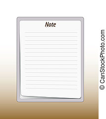 Paper note pad