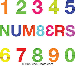 paper number text
