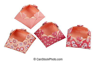 Paper Origami Love Boxes Gift Box