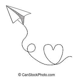 paper plane stock illustrations 11 700 paper plane clip art images rh canstockphoto com paper airplane clip art paper airplane clip art