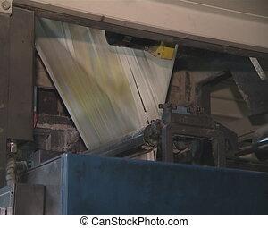 paper press printing