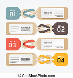 paper price tag. vector