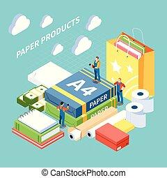 Paper Production Concept