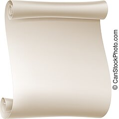 Paper Scroll Background