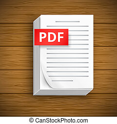Paper sheet icons