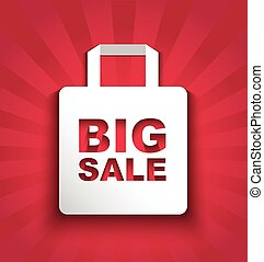 paper shopping bag BIG SALE