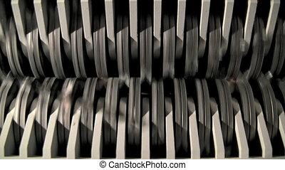 Paper Shredder Blades - Paper shredder blades.
