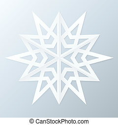 Paper Snowflake.