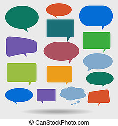 Paper Speech Bubble. - Comic Speech Bubble, Cartoon....