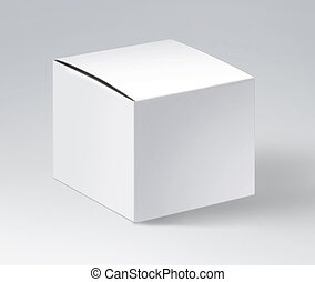 paper square packing box