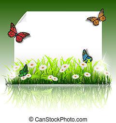 Paper summer frame