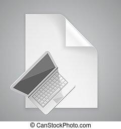 Paper symbol computer