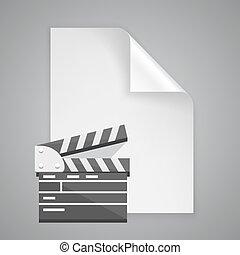 Paper symbol film