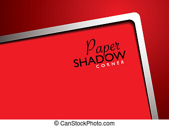 paper template red