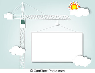 paper tower crane