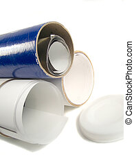 paper tubes - tubes for shipping business materials