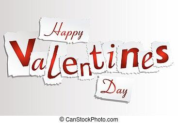 Paper Valentines Day