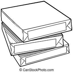 Paper, vector illustration