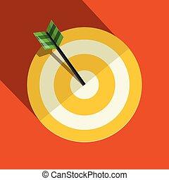 Paper Vector Target Symbol