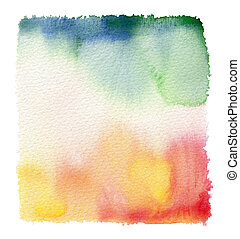 paper watercolor painted background