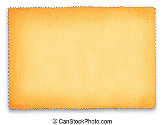 paper with frilll edge - paper background with frill edge...