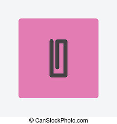 paperclip, ícone
