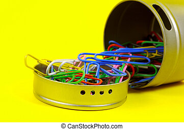 Paperclip Canister