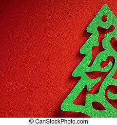 papercraft, 主題, ペーパー, 背景, クリスマス, 手ざわり