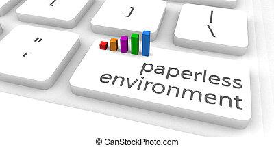 paperless, ambiente