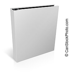 Binder isolated on a white background