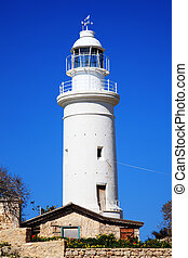 Paphos lighthouse, Cyprus