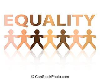 papier, égalité, gens