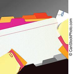 papier, achtergrond, farceren