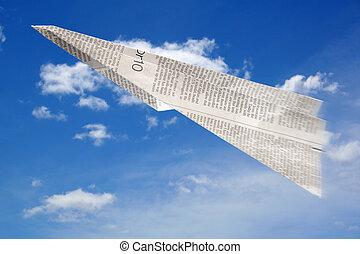 papier aeroplane