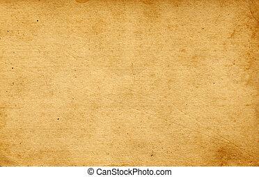 papier, altes , leerer , hintergrund