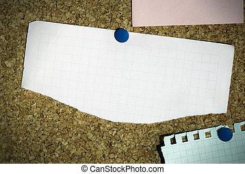 papier, blanks