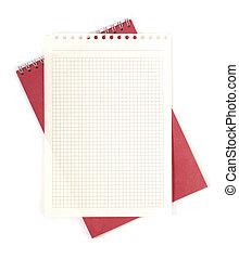 papier, bloc-notes