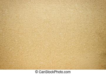 papier brun, granuleux