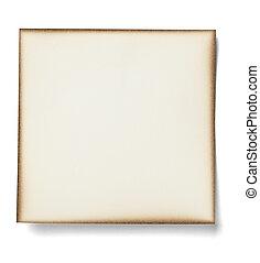 papier, business, blanc, message, étiquette, note