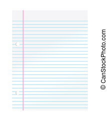 papier, cahier