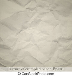 papier chiffonné, texture