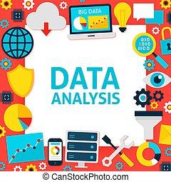 papier, données, analyse, gabarit