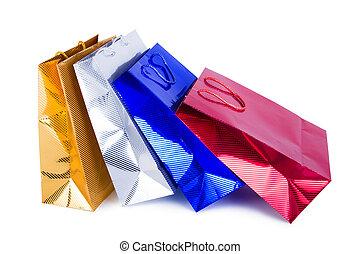 papier, einkaufstüten