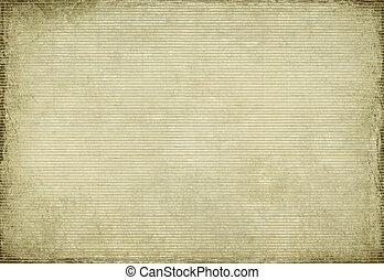 papier, en, bamboe, geweven, grunge, achtergrond