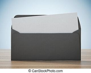 papier, enveloppe