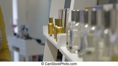 papier, femme, essai, parfum, testeur