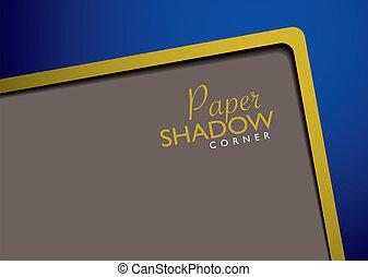 papier, gabarit, or