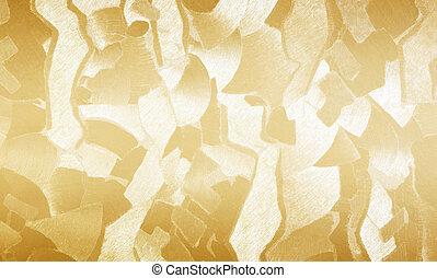 Papier,  gold, tapete